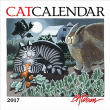 B. Kliban : Catcalendar 2017 Mini Wall Calendar, Calendar Book