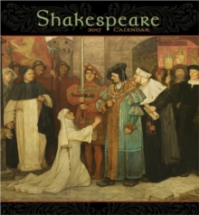 Shakespeare 2017 Wall Calendar, Calendar Book
