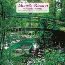 Monet's Passion : The Gardens at Giverny 2017 Mini Wall Calendar, Calendar Book