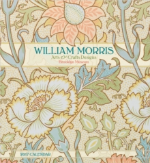 William Morris : Arts & Crafts Designs 2017 Wall Calendar, Calendar Book