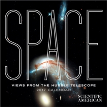 Space : Views from the Hubble Telescope 2017 Mini Wall Calendar, Calendar Book