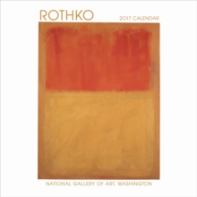 Rothko 2017 Mini Wall Calendar, Calendar Book