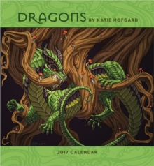 Dragons by Katie Hofgard 2017 Wall Calendar, Calendar Book