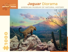 Jaguar Diorama 1000-Piece Jigsaw Puzzle  Aa956, Other merchandise Book
