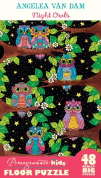Angelea Van Dam Night Owls Floor Puzzle, Other merchandise Book