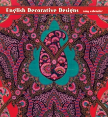 English Decorative Designs 2019 Wall Calendar, Calendar Book