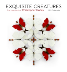 Exquisite Creatures the Insect Art of Christopher Marley 2019 Wall Calendar, Calendar Book