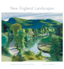 New England Landscapes 2019 Wall Calendar, Calendar Book