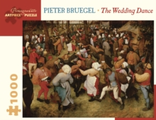 Pieter Bruegel the Wedding Dance 1000-Piece Jigsaw Puzzle, Other merchandise Book
