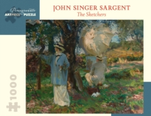 John Singer Sargent the Sketchers 1000-Piece Jigsaw Puzzle, Other merchandise Book