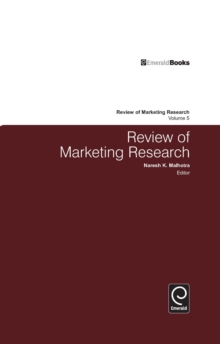 Review of Marketing Research : Volume 5, Hardback Book