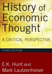 History of Economic Thought : A Critical Perspective, Paperback / softback Book
