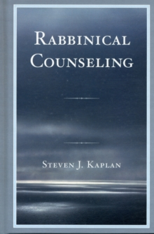 Rabbinical Counseling, Hardback Book