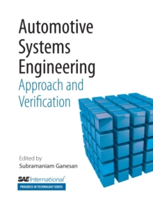 Automative Systems Engineering : Approach and Verification, Paperback / softback Book