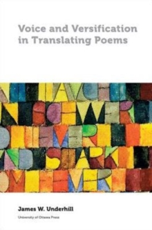 Voice and Versification in Translating Poems, Paperback / softback Book