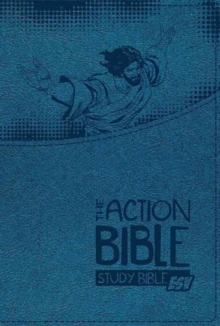 Action Bible Study Bible-ESV-Premium, Leather / fine binding Book