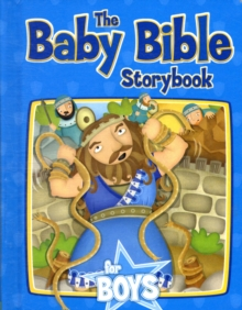 Baby Bible Storybook for Boys, Hardback Book