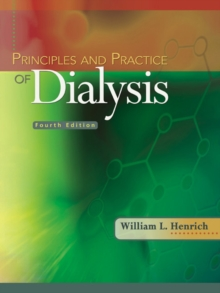 Principles and Practice of Dialysis, Hardback Book