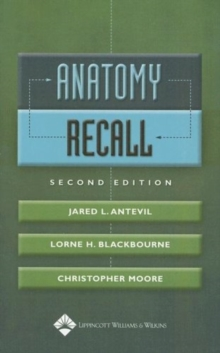 Anatomy Recall, Paperback Book