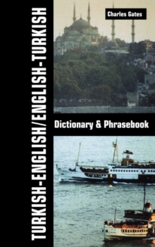 Turkish-English / English-Turkish Dictionary & Phrasebook, Paperback Book