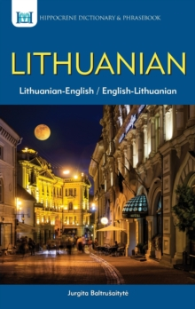 Lithuanian-English / English-Lithuanian Dictionary & Phrasebook, Paperback Book