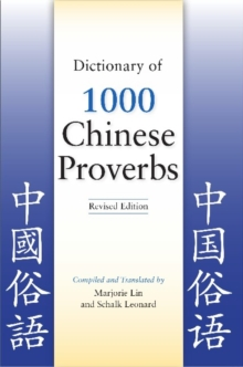 Dictionary of 1000 Chinese Proverbs, Paperback / softback Book