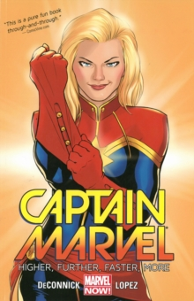 Captain Marvel Volume 1: Higher, Further, Faster, More, Paperback Book