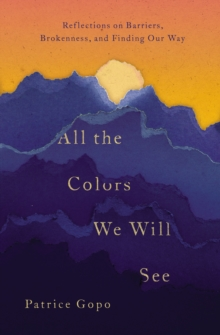 All the Colors We Will See : Reflections on Barriers, Brokenness, and Finding Our Way, Paperback / softback Book