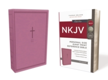 NKJV, Reference Bible, Personal Size Giant Print, Leathersoft, Pink, Red Letter Edition, Comfort Print : Holy Bible, New King James Version, Leather / fine binding Book