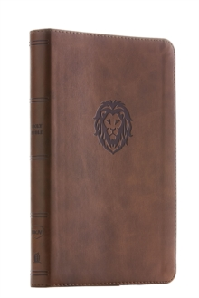 NKJV, Thinline Bible Youth Edition, Leathersoft, Brown, Red Letter Edition, Comfort Print : Holy Bible, New King James Version, Leather / fine binding Book