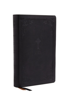 NRSV, Catholic Bible, Gift Edition, Leathersoft, Black, Comfort Print : Holy Bible, Leather / fine binding Book