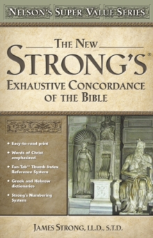 New Strong's Exhautive Concordance, Hardback Book