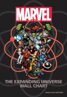 Marvel: The Expanding Universe Wall Chart, Hardback Book