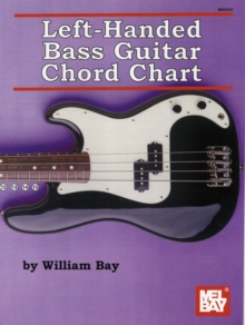 LEFTHANDED BASS GUITAR CHORD CHART,  Book