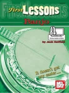 FIRST LESSONS BANJO, Paperback Book