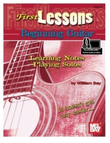 FIRST LESSONS BEG GTR BK AUD, Paperback Book