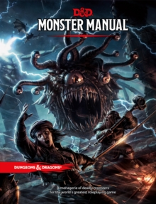 Monster Manual: A Dungeons & Dragons Core Rulebook, Hardback Book