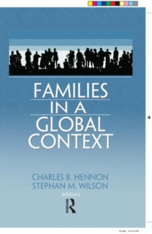 Families in a Global Context, Hardback Book