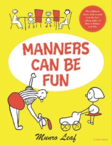 Manners Can be Fun, Hardback Book