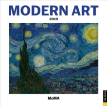 Modern Art 2019 Square Wall Calendar, Calendar Book