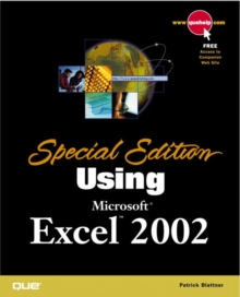 Using Microsoft Excel 2002, Paperback Book