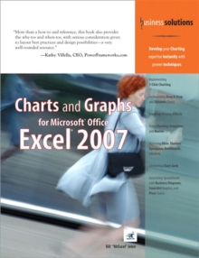Charts and Graphs for Microsoft Office Excel 2007, Paperback Book