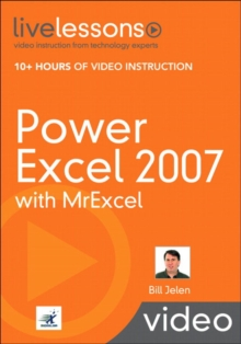 Power Excel 2007 with MrExcel (Video Training), Mixed media product Book