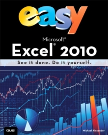 Easy Microsoft Excel 2010 (UK Edition), Paperback Book