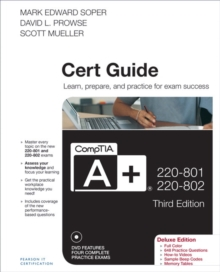 CompTIA A+ 220-801 and 220-802 Cert Guide, Deluxe Edition, Mixed media product Book