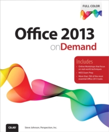 Office 2013 On Demand, Paperback / softback Book