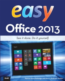 Easy Office 2013, Paperback Book