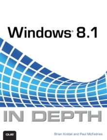 Windows 8.1 In Depth, Paperback Book