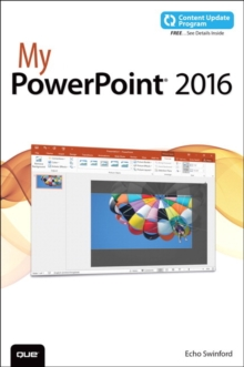 My PowerPoint 2016 (includes Content Update Program), Paperback / softback Book