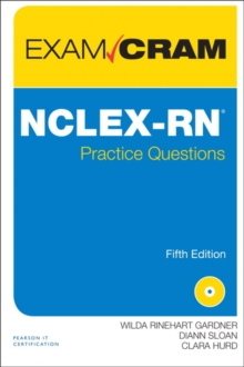 NCLEX-RN Practice Questions Exam Cram, Mixed media product Book